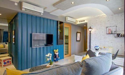 杭州创一居-银领时代现代简约二居室装修效果图