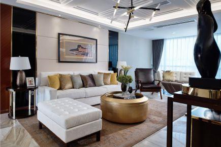 福州建发澜月湾现代三居室装修案例 120平的房子装修多少钱?