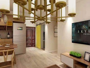 淮安星河花園原木日式二居室裝修案例,給你享之不盡的溫暖