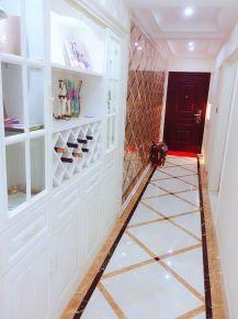 无锡国信世家简欧风格装修案例,温柔气质三居室!