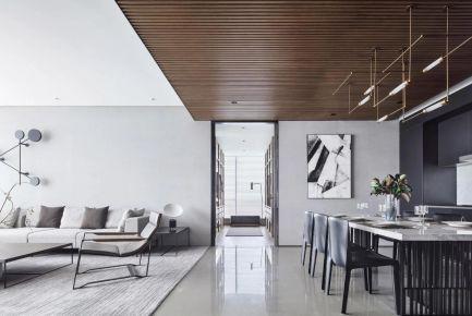 厦门简约风别墅装修设计,优雅而富有超前感