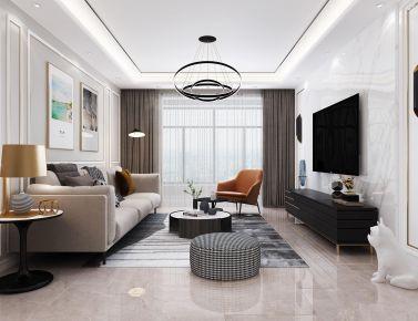 厦门欧式古典四居室装修效果图,低调奢华有内涵