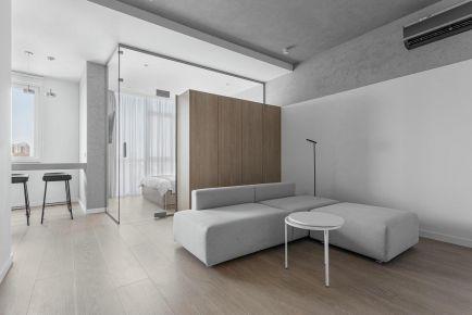 廈門簡約復式宅裝修案例,干凈利落有質感