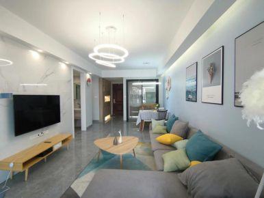 建发中央公园简约北欧风三居室装修,简单到极致的美好!