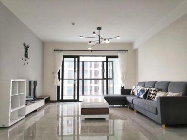 长沙明昇壹城三居室简约装修设计,温馨舒适!
