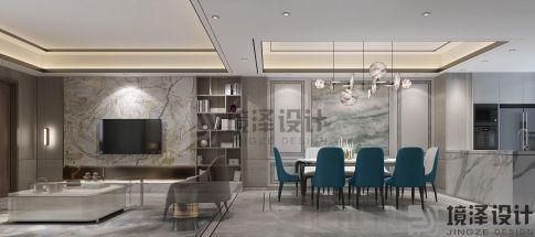 厦门联发橄榄墅现代简约风格别墅装修设计