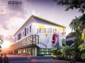 厦门菲律宾薄荷岛海鲜餐厅装修效果图