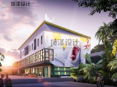 廈門菲律賓薄荷島海鮮餐廳裝修效果圖