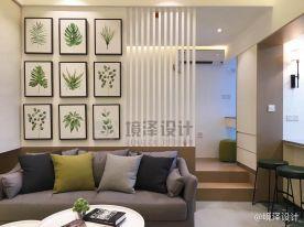 晋江宝龙单身公寓装修效果图,充满轻奢气息的时尚小屋