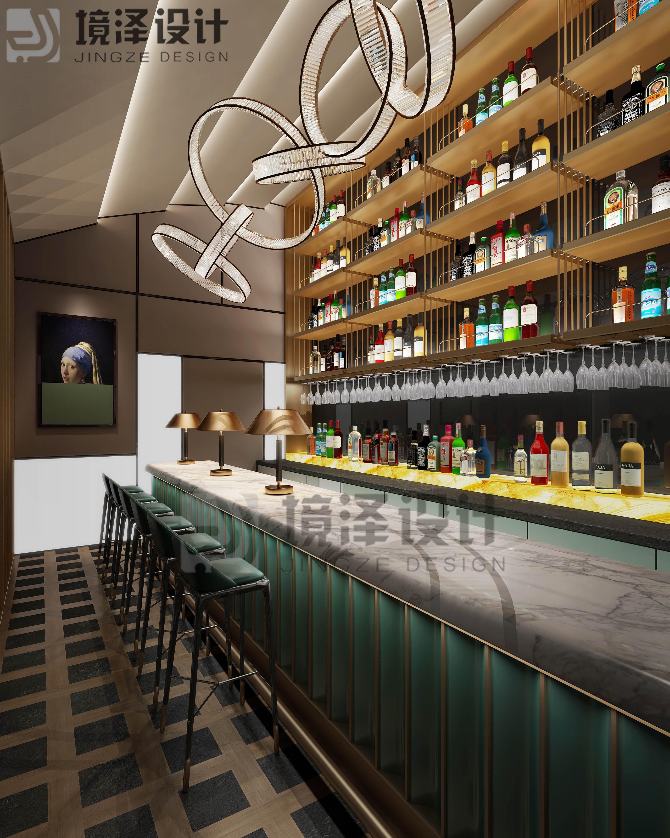 泉州東海泰禾廣場酒吧裝修效果圖 酒吧怎么裝修好看?