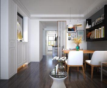 六安南溪丽城欧式二居室装修,朴实但不失精致,棒!
