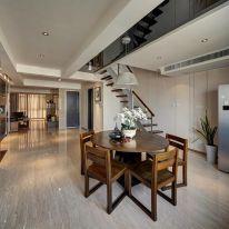 福州世茂御龍灣120㎡現代風格三居室裝修效果圖