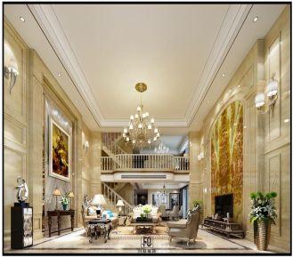 广州合和新城金枫七街欧式别墅装修案例