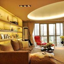 福州名城國際簡約現代三居室裝修效果圖