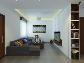 福州泰禾紅峪100㎡現代三居裝修,貼合生活美觀實用