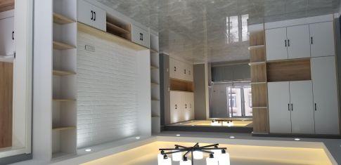烟台恒嘉御景豪庭现代简欧四居室装修,轻奢优雅,端庄大方的居室空间!