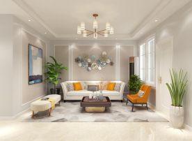 煙臺雙陽學府現代簡約三居室裝修設計,簡單不失溫馨