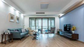 蘇州御湖灣179㎡現代簡約三居室裝修案例,素雅輕松的氛圍
