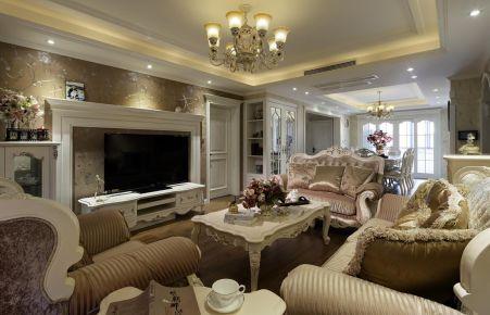 福州170平歐式三居室裝修效果圖