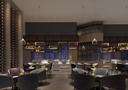 泉州餐厅混搭装修效果图 个性餐厅怎么混搭才好看