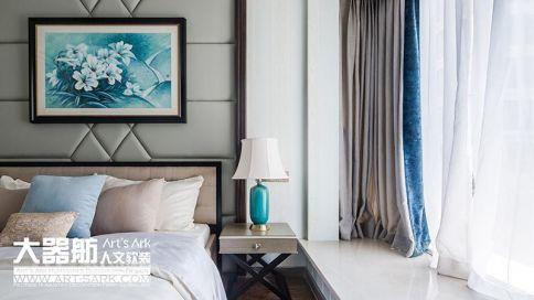廣州中港綠泰120平現代簡約風三居室裝修,美感十足!