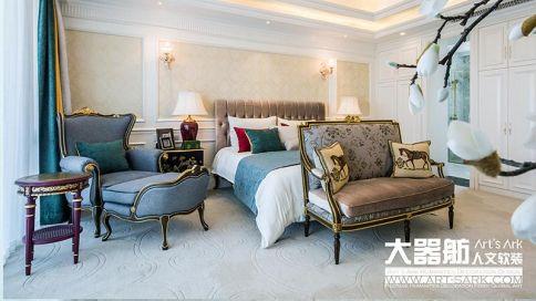 广州中港绿泰欧式别墅装修案例,奢华夺目的艺术之作!