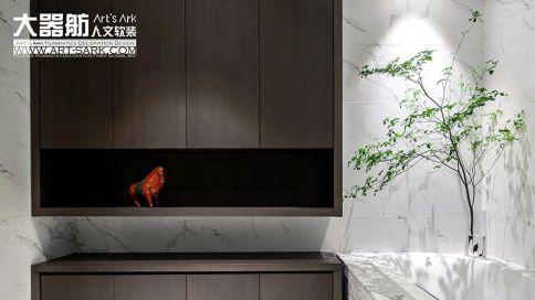 广州天誉半岛雅致中式四居室装修案例,极致的东方惊艳!