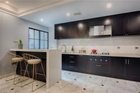 福州万达小区90㎡现代美式三居室装修案例