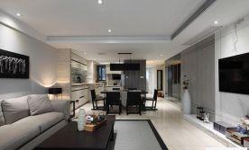 福州東方名城三室兩廳現代簡約裝修效果圖