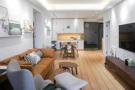 福州115㎡北歐簡約風三居室裝修設計,8090后熱衷的情趣!