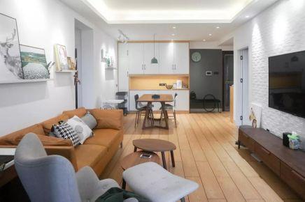 福州115㎡北欧简约风三居室装修设计,8090后热衷的情趣!