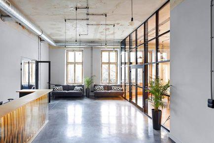 杭州办公室装修案例之现代风设计