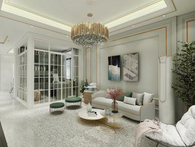 广州从化自建房简欧三居室装修案例,舒适品质!