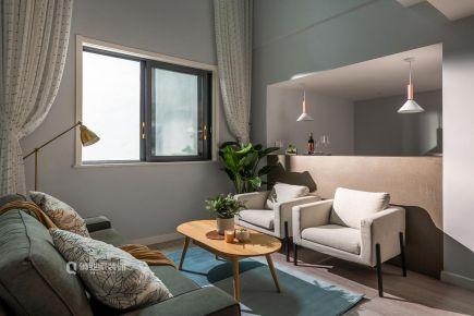 重庆保利山庄现代简约四居装修,清新实用好舒逸