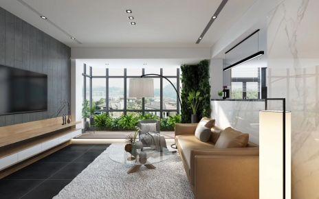 福州長樂自建房木質復古小復式,日式溫馨裝修