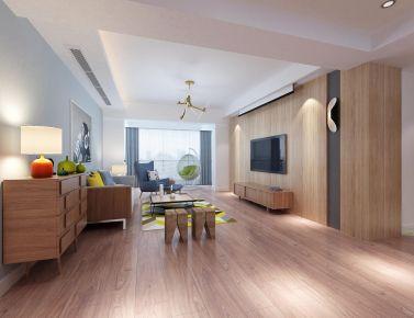 福州名城国际130㎡北欧风格三居室装修案例