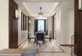 福州七?#36136;?#20108;府新中式风格设计 三居室的全新演绎