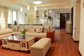 福州大名城110平三居室装修,美式风情引领复古风
