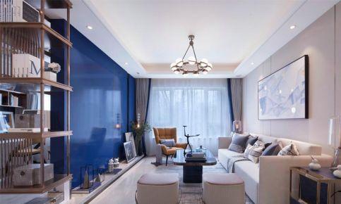 重庆保利观塘89平三居室现代简约家装设计