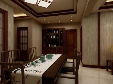福州名城国际简约中式三居室装修,体味中式文化的安宁雅韵!