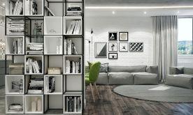 重慶融匯半島現代法式三居室裝修,簡約唯美的夢幻空間~