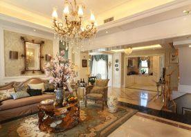 重庆浪漫法式四居室装修设计赏析 法式四居室装修案例