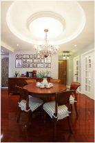 福州建发领第澜月湾红木古典美式风格三居室装修效果图
