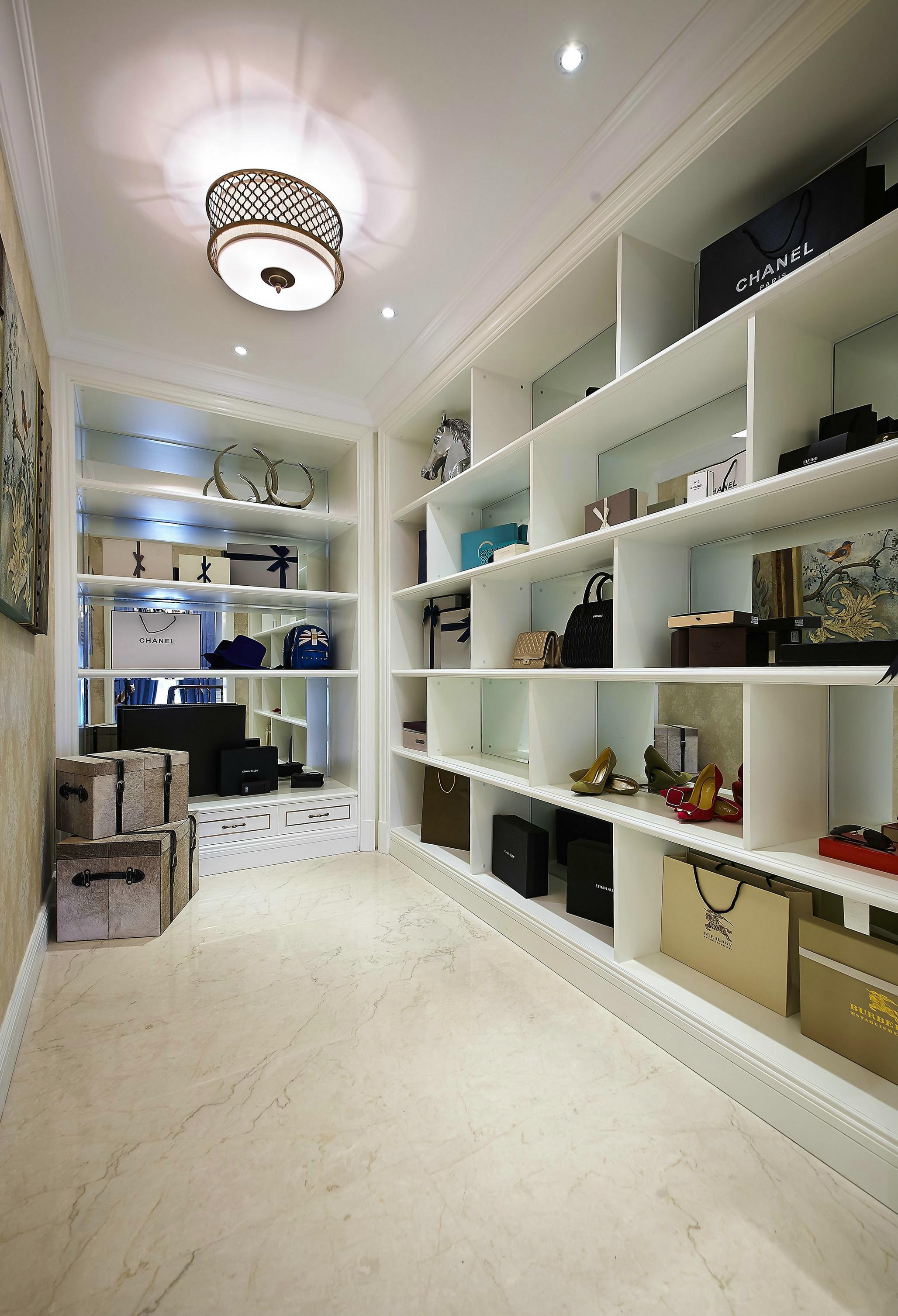 重慶恒大未來城140㎡簡歐風四居室裝修,滿滿的舒適感!