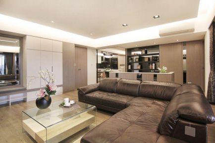 福州福新苑现代简约风格-三居室装修设计案例分享