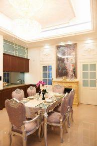 福州建发领第澜月湾奢华复古欧式三居室装修效果图