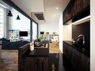 杭州創一居盈都 江悅城小戶型現代風格裝修效果圖