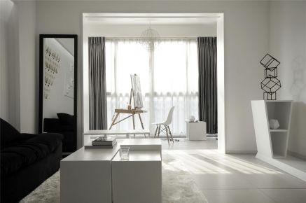 汕头中冠华府现代简约三居室风格装修设计欣赏