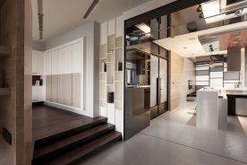 杭州创一居装饰长树新区日式风格二居室装修效果图