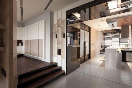 杭州創一居裝飾長樹新區日式風格二居室裝修效果圖